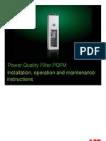 2GCS212019A0070_Manual Power Quality Filter PQFM