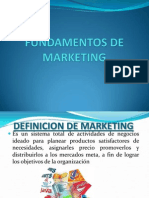 Fundamentos de Marketing Preuniversitario