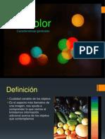 El Color Caracteristicas