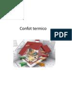 Confot termico