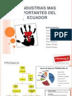 5 Industrias Mas Importantes Del Ecuador