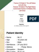 Case Report Fr Femur and Patella