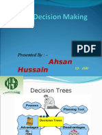 Decision Making by Ahsan Hussain