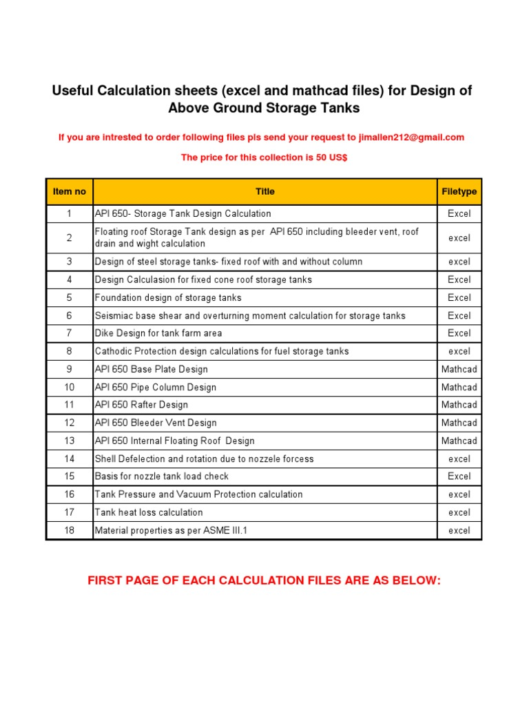 Storage tanks calculations | Stress (Mechanics) | Strength Of Materials