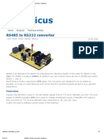 RS485 to RS232 Converter _ Aquaticus