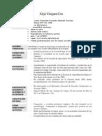 Curriculum Alejo