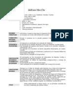 Curriculum Idelfonso