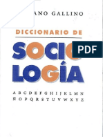 122896599 Diccionario de Sociologia Escrito Por Luciano Gallino PDF