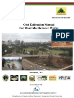 Open Version Cost Estimation Manual