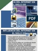 Influencia Del Internet en El Siglo Xxi