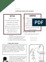 Myths, Legends and Scotland