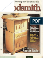 Woodsmith 131 - Build the Ultimate Router Table