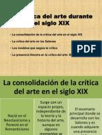 Presentación Critica siglo xix