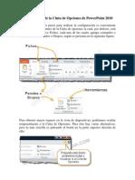 Componentes de La Cinta de Opciones de PowerPoint 2010