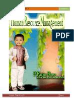 Human Resource Management by Raja Rao Pagidipalli