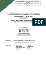 PLAN de SEGURIDAD y Salud Ticaco-Candarave Actualizada