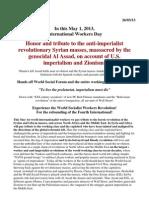 MAYDAY Statement  FLTI 2013.docx