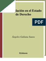 Angeles Galiana Saura La Legislación En El Estado De Derecho Spanish Edition  2008