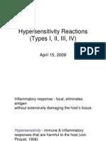 Hyper Sensitivities 09