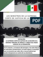 Los Ministros de La Suprema Corte de Justicia