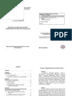 Procesul de Regionalizare a Romaniei Si Securitatea Nationala