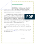 k parent newsletter