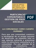 Proyectos Agrop. Comunitarios