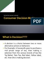 27758691 Consumer Decision Making