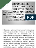AGOTAMIENTO DE LA VÍA ADMINISTRATIVA  (1)