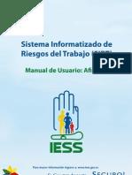 Manual Afiliado Riesgo de Trabajo.