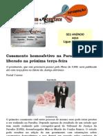 Casamento homoafetivo na Paraíba deve ser liberado na próxima terça-feira