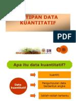 Pengumpulan Data Kuantitatif