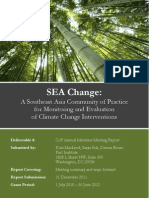 SEA Change CoP Bangkok Annual Members Meeting Report 2011