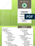 Confort Acustico Presentacion