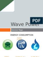 Wave Power Persuasive Speech