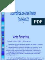 Desarrollo de Las Artes Visuales en El Siglo XX