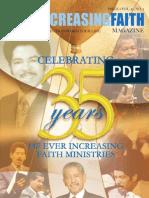 Spring 2013 - Ever Increasing Faith Magazine