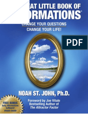 85363708-The-Great-Little-Book-of-Afformations pdf | Thought