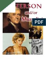 19789163 Ezra Pound Jefferson AndOr Mussolini[1]