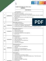 planificacion quimica electivo