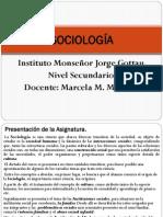 SOCIOLOGÍA Secundario