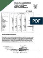 Coco peat Test Certificate
