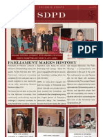 SDPD Update Jan - April 2013