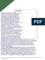 V. de Caprio - S. GiovanardiLa Produzione Letteraria