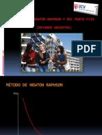 MÉTODO DEL PUNTO FIJO y NEWTON RAPHSON
