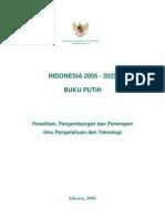 Buku Putih Penelitian Pengembangan dan Penerapan IPTEK