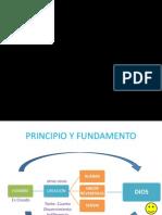 Principio y Fundamento