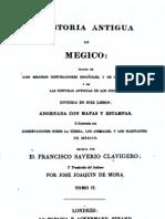 Historia Antigua de Megico Sic