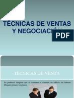 Curso de técnicas de ventas y negociación..