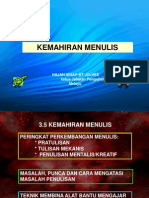 KEMAHIRAN MENULIS